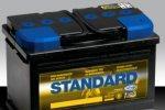 New range of STANDARD batteries